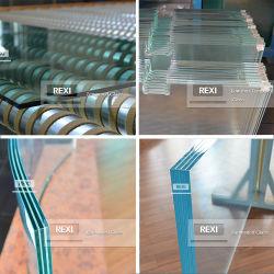 Vendas da fábrica 8.76mm-40.28 mm Fabricante de vidro temperado laminado Vidro temperado laminado dobrado