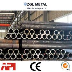 ASTM A106 A53 GRA/Grb/A179 、 A192 ボイラーまたは熱交換装置用の厚肉 / 薄壁カーボンシームレススチールチューブ / 亜鉛メッキパイプ