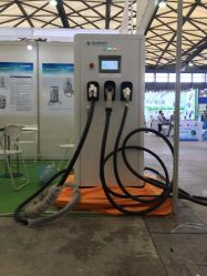 充電ステーション用 CHAdeMO/CCS/ タイプ 2 統合 EV 充電器