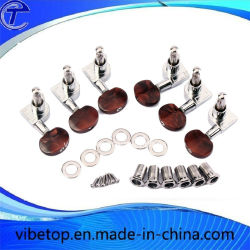 Coral Red Acoustic Music Machine Heads Gitarre