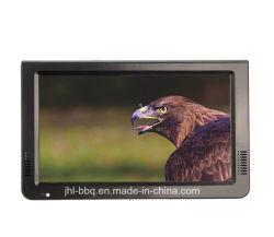 شاشة TFT-LED بحجم 12 بوصة حجم صغير وتلفزيون رقمي محمول تناظري جهاز DVB-T DVB-T2 ATSC وISDB متعدد الوسائط للتلفاز، كل ذلك في جهاز واحد تلفزيون