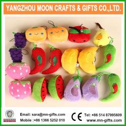 Fruto de peluche lindo Llavero Llavero de peluche juguete