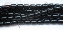 L'Obsidienne noire de pierres semi précieuses 10x12mm Baril cordon pour la fabrication de bijoux