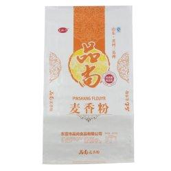 50kg Polypropylen-Beutel Weizenmehl oder Zucker PP gewebte Verpackung