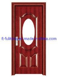 Aufbau-Badezimmer-Innenplastik-Belüftung-Tür-hölzerne Tür