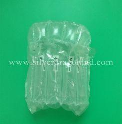 De Zak van de Verpakking van de Kolom van de lucht voor het Ingeblikte Luchtkussen van het Pakket van het Voedsel Opblaasbare Plastic