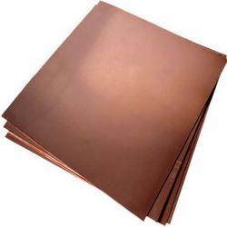 C18200 C18150 el bronce Lámina de cobre para conductores en stock