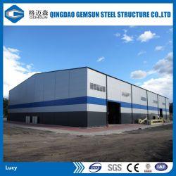 Structure en acier Acier de construction en acier de l'atelier d'entrepôt de matériel