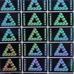 ملصق صورة ثلاثية الأبعاد ليزر من فئة 3D للبيع الساخن مع تصميم مخصص للطباعة لمكافحة الزور