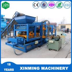 Qt Xinming4-15 Baldosa máquina mezcladora de concreto con la fabricación del bloque