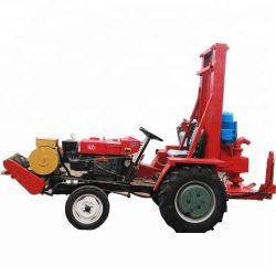 Monté sur tracteur de la pompe hydraulique de l'eau plate-forme de forage de puits, Mini-tour de forage, appareil de forage portable