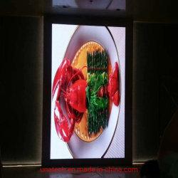 Piscina cheia de pixels de cores 3mm Instalação fixa na parede Sinal Digital de Mídia de Publicidade Display LED de tela