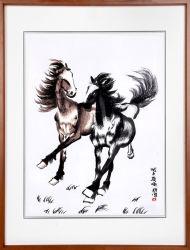 L'art chinois de la peinture de chevaux sauvages pour Office