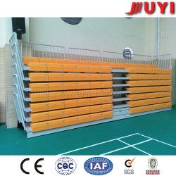 Jy-750 Assentos Telescópico Capota Arquibancada Arquibancada ginásio interior de plástico Arquibancada Bancos corridos de plástico