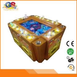 Inventor chinês das máquinas de entalhe dos jogos dos peixes do paraíso da fileira para a pesca