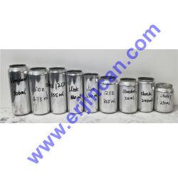 علبة من الألومنيوم أنيقة سعة 355 مل، مكثف بيرة سعة 12 أونصة
