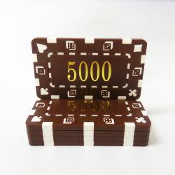 주문 특대 직사각형 인쇄할 수 있는 플라스틱 Ept 부지깽이 칩