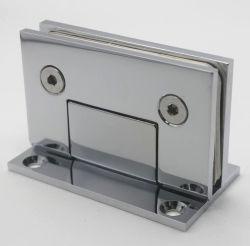 Vidrio de latón de la pared de vidrio de 90 grados de bisagra de la ducha bisagras