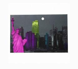 Design OEM tela LED arte emoldurada