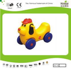 Carro de plástico Kaiqi brinquedos para bebés - Cão (KQ50136C)