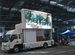 P8 Full Color Vehicles LED für Outdoor Advertisement