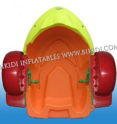 Venta de Niños Hot Water Park Paddle bote inflable para nadar, piscina de agua de los niños jugar paddle barco bote hinchable