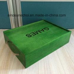 絵画ラッカーが付いている品質のCustomed極度の最新の様式の木製ボックス