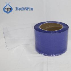2mm azul claro transparente de PVC Industrial Estándar Flexible cortina de la puerta de la banda