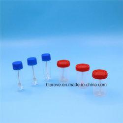 Différentes tailles de conteneur jetables médical spécimen de selles