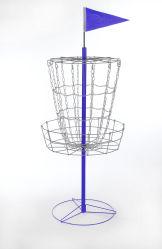 Двойной Креста цепи Disc Golf корзину