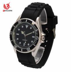 Мода сплава силиконовый браслет мужчин кварцевые часы № V710