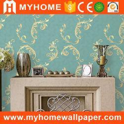 2016 Nuevo diseño de papel tapiz de PVC resistente al agua líquida