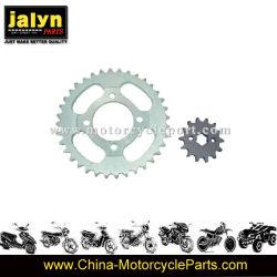 pièces de rechange de moto Moto pignon avant et arrière