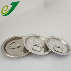 Vous pouvez facilement l'anneau de Peel Tirez le couvercle de boissons 53mm