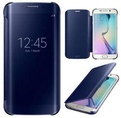 Ursprüngliches Luxury Mirror Smart Flip Fall Cover für Samsung S6
