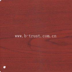 PVC Folie/Folie Holz Korn Farbe für Möbel/Tür Heisslaminat Htd010