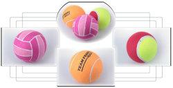 6 インチボール 1 個付きの膨張式テニスセット