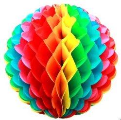 Les billes Honeycomb de tissus, papier de soie Poms POM