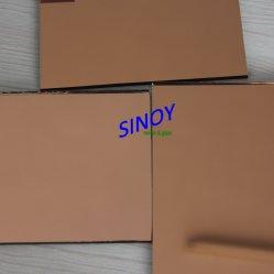 Customer SizeのHome Decorationのための中国4mm-6mm Bronze Tinted Mirror Sheet