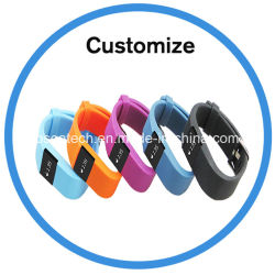 Deportes Fitness inteligente LED Pulsera Brazalete Bluetooth con la frecuencia cardíaca