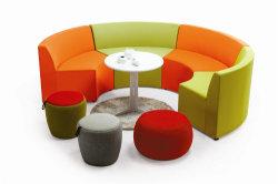 Sofa sectionnel de style moderne en tissu dans le secteur public et bureau (OWSF5061-B)