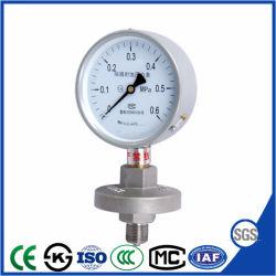 ベストセラーおよび高品質のダイヤフラム式圧力計