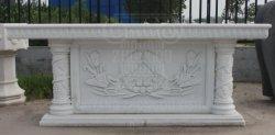 Iglesia altar tallado en mármol blanco natural