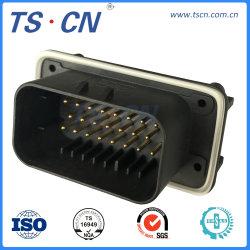 Elektrische auto-industrie Male ECU verticale PCB-maaibordbehuizing connector 23-weg Connector voor PCB-maaibord 776200/776200-1/776230