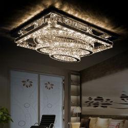LED는 거실을%s 형식 Stayle 펜던트 빛 현대 샹들리에 수정같은 램프를 꾸민다