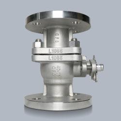 China Personalizada de Fábrica ponta de aço inoxidável Válvula de esfera com a própria fundição de fundição