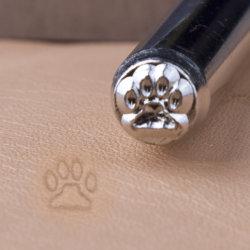 スタンプR007の足の記号の穿孔器を渡させるツールに革クラフトのツールの記号の金属に宝石類