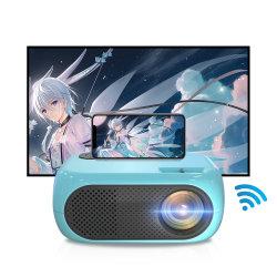 LED Lien Mini Smart 3D Home Movie Theatre Cinema HD Proiettore video portatile tascabile