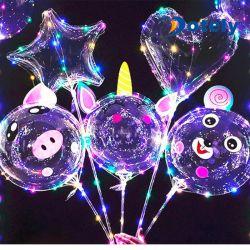 Cartoon Bobo GLOBO globo de luz LED para la Navidad fiesta de boda