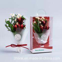 Árbol de navidad con flores artificiales Fiestas Ideas para una Navidad de lujo para bodas Arreglos florales